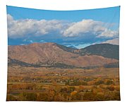 Haystack Autumn View Tapestry