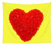 Heart Of Glass Tapestry