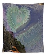 Heart Of The Tide Pool Tapestry