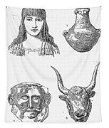 Heinrich Schliemann Tapestry
