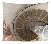 Helical Stairway Tapestry