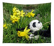 Hello Spring. Ginny From Travelling Pandas Series. Tapestry