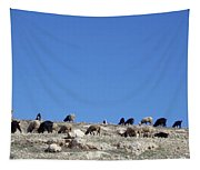 Herd In The Atlas Mountains 02 Tapestry