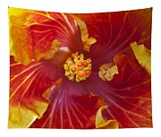 Hibiscus Center Tapestry