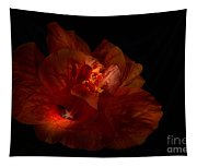 Hibiscus Glow Tapestry