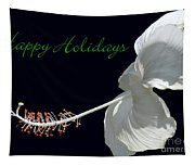 Hibiscus Holiday Card Tapestry