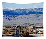 Highway 52 End Of The Line Tapestry
