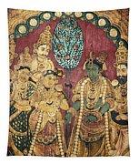Hindu Wedding Ceremony Tapestry