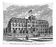 Hoboken: College, 1878 Tapestry