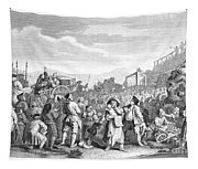Hogarth: Industry, 1751 Tapestry