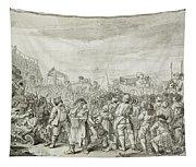 Hogarth: Industry, C1751 Tapestry