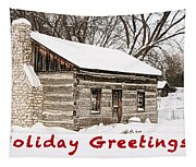 Holiday Greetings Tapestry
