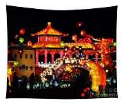 Holiday Lights 9 Tapestry
