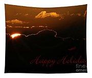 Holiday Sunrise Tapestry