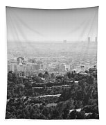 Hollywood From Above Tapestry by Ricky Barnard