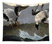 Homer: Right & Left, 1909 Tapestry
