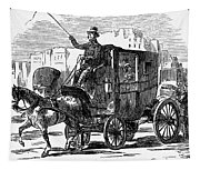 Horse Carriage, 1853 Tapestry