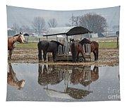 Horses Tapestry