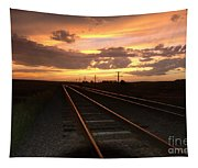 Hot Rails Tapestry
