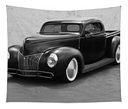 Hot Rod Pick Up Tapestry