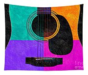 Hour Glass Guitar 4 Colors 2 Tapestry