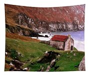 House At The Coast Tapestry