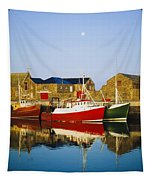 Howth Harbour, County Dublin, Ireland Tapestry