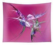 Hummingbird Fantasy Abstract Tapestry