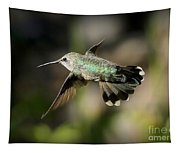 Hummingbird Fly By Tapestry