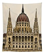 Hungarian Parliment Building Tapestry