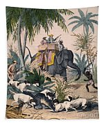Hunting: Big Game, 1852 Tapestry