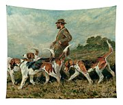 Hunting Exercise Tapestry