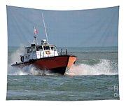 Huron Belle Pilot Boat Tapestry