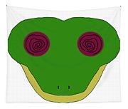 Hypno Frog Tapestry