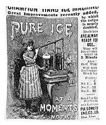 Ice Machine, 1891 Tapestry