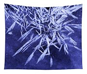 Ice Patterns On Wedge Pond Tapestry