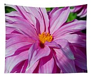 Ice Pink Dahlia Tapestry