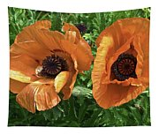 Iceland Poppies Tapestry