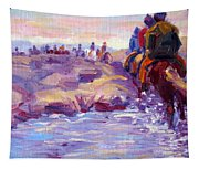 Icelandic Horse Trail Ride Tapestry