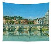 Il Fiumi Tevere Roma Tapestry