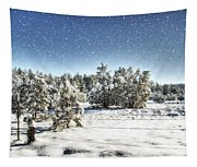 I'm Dreaming Of A White Christmas  Tapestry