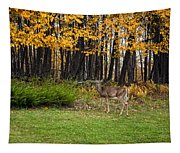 In A Yellow Wood Tapestry