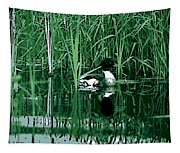 in the Bulrushes Tapestry
