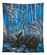 In The Still Of The Night Series 1 Tapestry