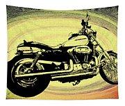 In The Vortex - Harley Davidson Tapestry