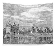India: Golden Temple, 1858 Tapestry