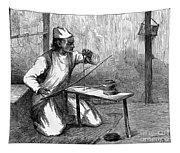 India: Pearl Borer, 1876 Tapestry