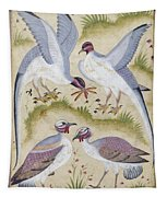 India: Pheasants Tapestry