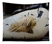 Indian Motocycle Gas Tank Tapestry