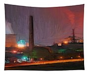 Industrial Lights Tapestry